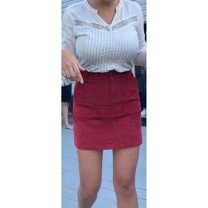 Old Navy High-Waisted Corduroy Skirt